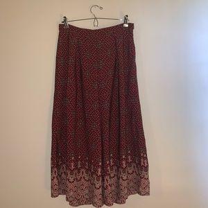 Forever 21 Boho Culottes Pants